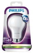 60W LED Replacment bulb |B22 Bayonet | PHILIPS
